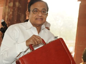 Chidambaram with the Budget