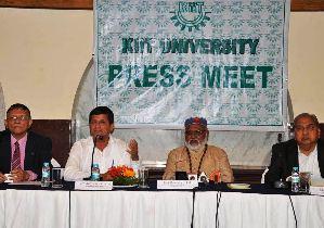 KIIT press meet