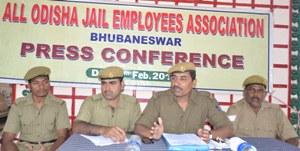 PRESS MEET ON ALL ODISHA JAIL EMPLOYEES ASSOCIATION  (1)