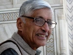 Rajmohan Gandhi (pic: news.brown.edu)