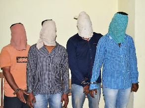 Robbers nabbed