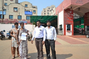 Victim Urmila Pradhan lands SWC for justice (victim number-8093494112)