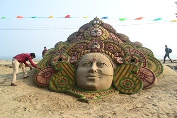 durga at digha