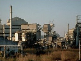 The abandoned Union Carbide plant in Bhopal