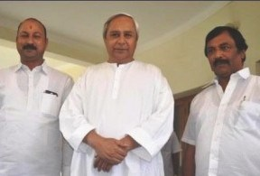 Naveen with Ind MLAs