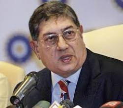N.Srinivasa: On the dock again (Pic courtesy: theunrealtimes.com)