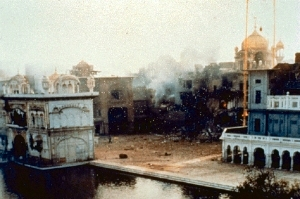 Operation Bluestar 1984 ( pic : panthic.org )