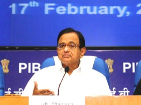 Chidambaram's post-budget briefing