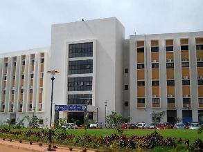 Admin building of AIIMS Bhubaneswar