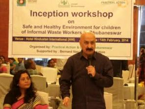 BMC Commissioner Sanjeev Mishra addressing the Workshop