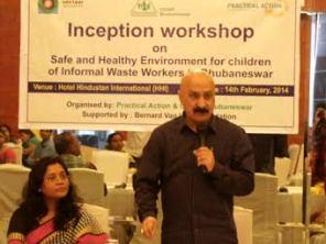 BMC Commissioner Sanjeev Mishra addressing the Workshop