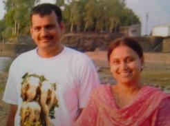 Prahlad & Kranti Shirsath (IANS pic)