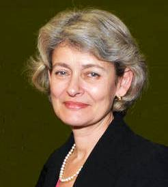 Irina Bokova, Head, UNESCO