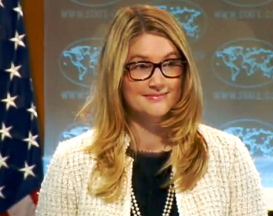 Marie Harf, US State Dept Spokesperson