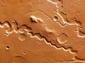 Nanedi Valles valley system on Mars (mashable.com)