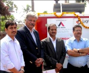 Pic - American Tower Corporation Donates DG to KGBV and Six CHCs  in Phailin affected Ganjam District