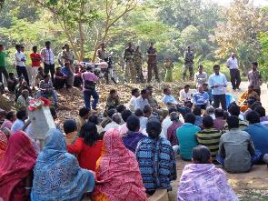 Peace meeting in presence of Phulbani MLA