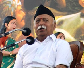 RSS chief Mohan Bhagwat (pic source : mangalorean.com )