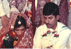 File pic of Anwesh's wedding