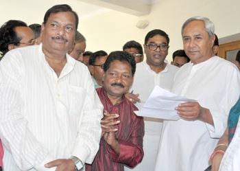 ashok samal joins bjd