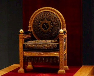 Napoleon's chair