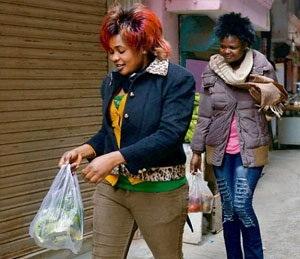 Happy Stay : Africans in Delhi ( pic courtesy : dailybhaskar.com)