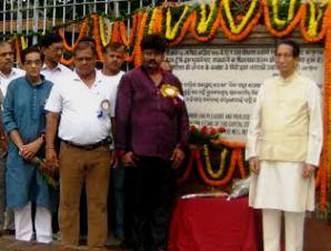 Governor Dr SC Jamir at the Rajdhani Foundation Day celebrations