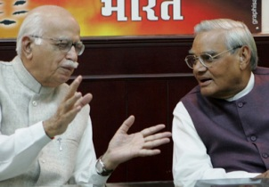 Old Guards : Advani with Vajpayee