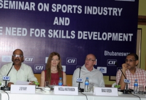 CII press meet Sports Infra