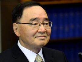 Chung Hong-won, PM, South Korea