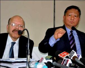 Dr Nasim Zaidi and HS Brahma