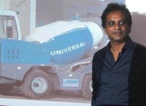 Universal Group Vice Chairman Ranjit More during launching of SLM at Bhubaneswar