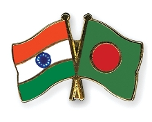 India-Bangladesh Flag