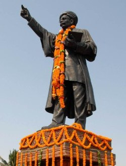 Madhu Babu's statue in the state capital