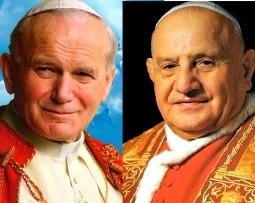 Popes John XXIII, John Paul II