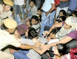 RCMA students' scuffle with police on Monday night