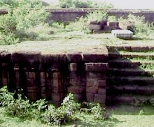 Remnants of 13th century Raibania Fort