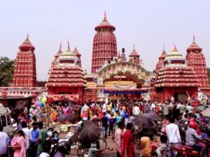 Ram Temple in Bhubaneswar on Ram Navami