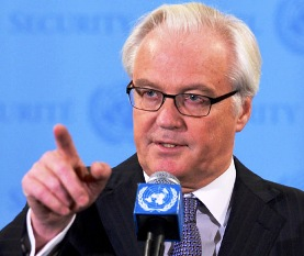 Vitaly Churkin, USSR Rep in UN