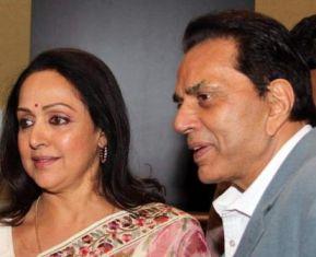Dharmendra with Hema