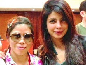 Priyanka with Mary Kom