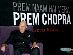 Prem at the book launch