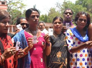 File pic : Third gender voters in Bhubaneswar