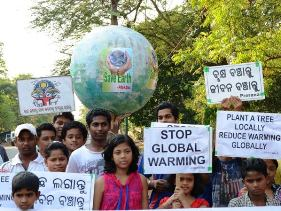 Rally organised by 'Prerna' on Earth Day
