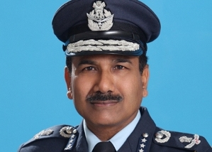 Indian Air Force chief Arup Raha