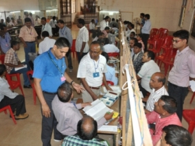 File pic of counting centre