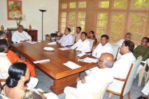 File pic of BJDPP meeting at Naveen Niwas