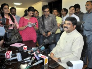 Pradhan taking charge as Oil & Gas minister