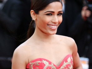 Freida Pinto at Cannes ©Getty Images for L'Oréal Paris.