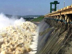 File pic of Hirakud dam